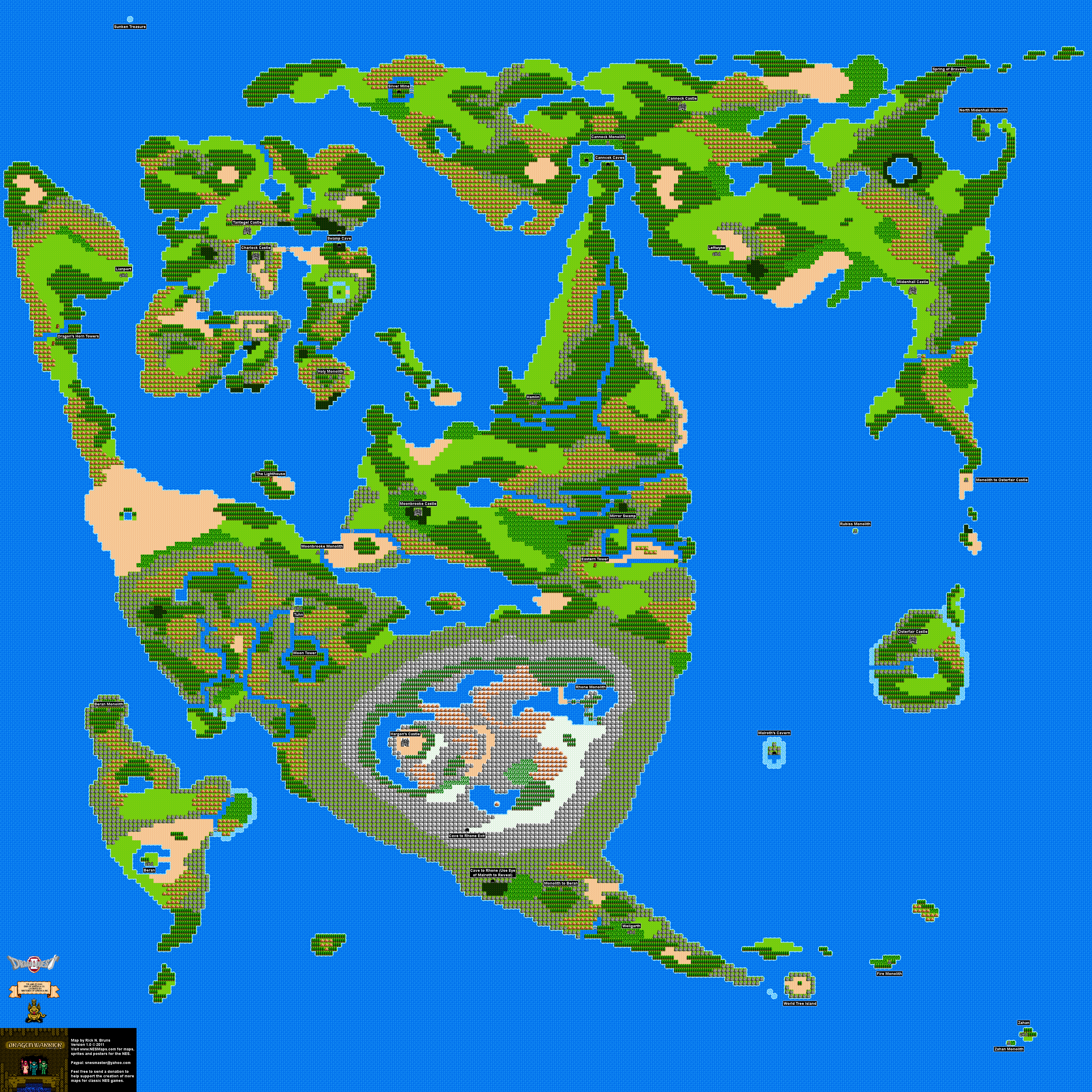 DragonWarrior2OverworldMap Dragon Warrior Map on just cause 2 map, the legend of zelda, double dragon, dragon quest monsters: joker 2, dragon quest viii: journey of the cursed king, dragon quest, crash bandicoot 2 map, dragon quest vi: realms of revelation, super mario brothers 2 map, ducktales 2 map, breath of fire 2 map, dragon quest v: hand of the heavenly bride, dark souls 2 map, jurassic park 2 map, dragon mountain map, crusader kings 2 map, dragon warrior iii, asia after world war 2 map, dragon quest world map, call of duty 2 map, dragon quest 4 map, indiana jones 2 map, forza horizon 2 map, chrono cross, adventure island 2 map, dragon tree map, dragon quest ix: sentinels of the starry skies, castlevania 2 map, wario land 2 map, infinity blade 2 map, dragon warrior monsters,