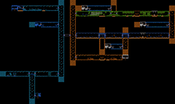 Metroid Map Selection - Labeled Maps - Nintendo NES