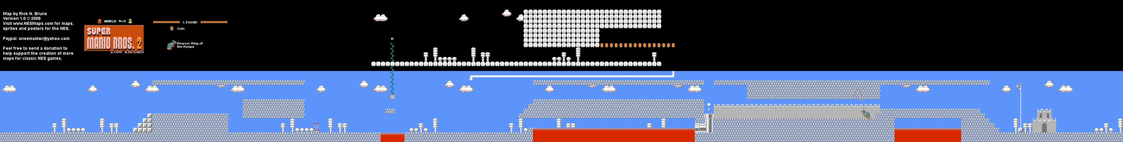 Super Mario Bros 2 Japan The Lost Levels World 9 3 Nintendo