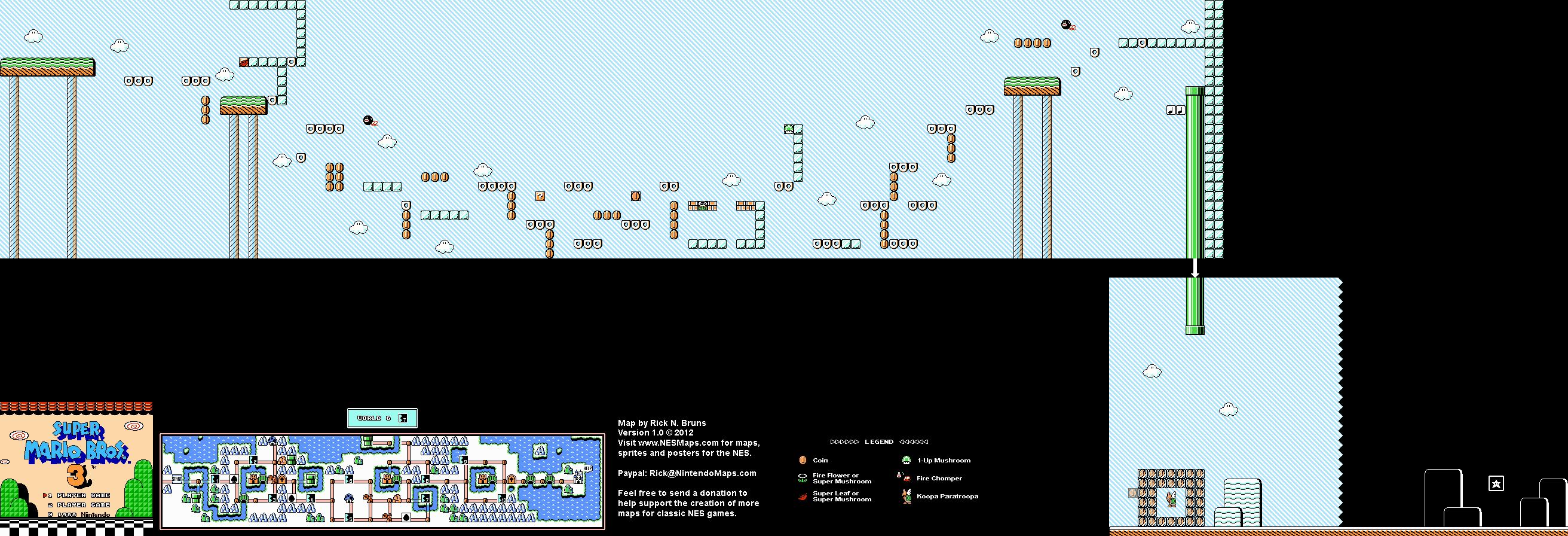 super mario bros 3 world 7 map
